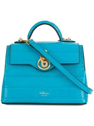 Mulberry Micro Seaton Shoulder Bag Blue