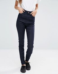 Dr. Denim Dr Zoe Sky High Waist Eco Skinny Jeans Rinsed Blue