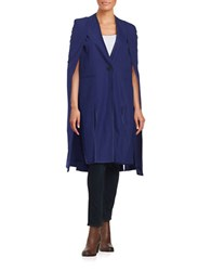 Kendall Kylie Long Tuxedo Cape Patriot Blue