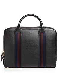 Paul Smith City Webbing Slim Briefcase Black