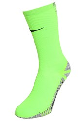 Nike Performance Strike Sports Socks Electric Green Black