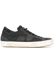 Philippe Model Lace Up Sneakers Black