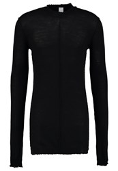Damir Doma Kidman Jumper Coal Black