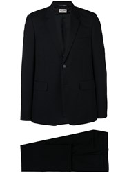 Saint Laurent Classic Two Piece Formal Suit Black