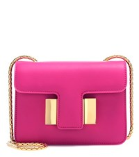 Tom Ford Sienna Small Leather Shoulder Bag Pink