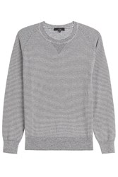 Iro Long Sleeved Stiped Cotton Top Stripes