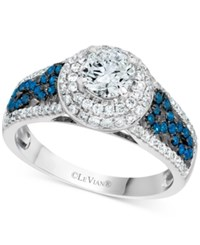 Le Vian Bridal Diamond Engagement Ring 1 1 3 Ct. T.W. In 14K White Gold