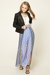Forever 21 Abstract Layered Maxi Skirt