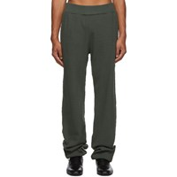 Telfar Green Thermal Lounge Pants
