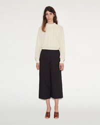 Christophe Lemaire Large Pant Crop Black