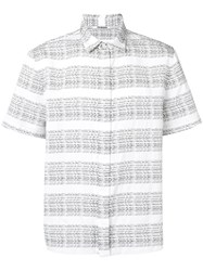 Chalayan Short Sleeved Shirt White