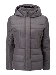 Precis Petite Quilted Jacket Grey