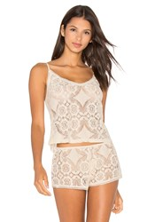 Only Hearts Club Mosaic Lace Cami Ivory