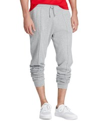 Polo Ralph Lauren Ribbed Cotton Jogger Pants Andover Heather