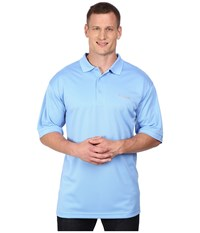 Columbia Perfect Cast Polo Tall White Cap Men's Short Sleeve Pullover Blue