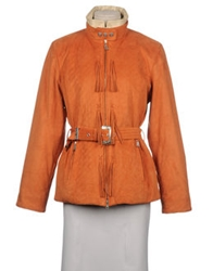 Bogner Mid Length Jackets Orange