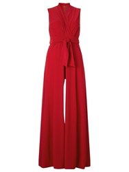 Phase Eight Roxanne Jumpsuit Red