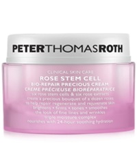 Peter Thomas Roth Rose Stem Cell Bio Repair Precious Cream 1.7 Oz