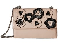 Ivanka Trump Mara Cocktail Bag Blush Floral Applique Bags Beige