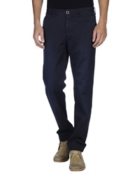 Incotex Red Casual Pants Dark Blue