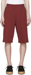 Opening Ceremony Burgundy Boxing Shorts