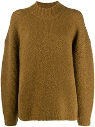 3.1 Phillip Lim Turtle Neck Jumper Brown