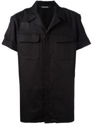 Neil Barrett Military Shirt Black