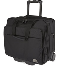Victorinox Officer Two Wheel Briefcase Black