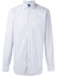 Barba Striped Shirt White