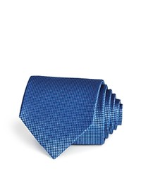 Bloomingdale's The Men's Store At Basic Textured Solid Classic Tie Navy