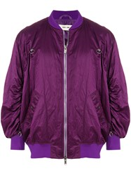 Damir Doma Jerrit Jacket Pink And Purple