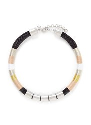 J.Crew Sailor Rope Collar Necklace Multi Colour