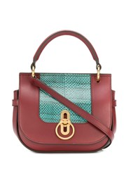 Mulberry Small Amberley Satchel Red