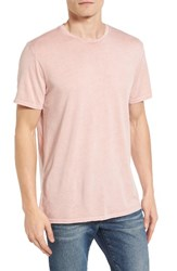 The Rail Men's Washed T Shirt Pink Silver