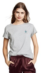 Anya Hindmarch Brainy Smurf T Shirt Frost