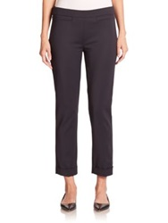 Sportmax Mestre Cropped Cuffed Pants Midnight Blue