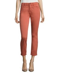 Jen7 Brushed Sateen Ankle Skinny Pants