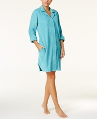 Charter Club Snap Front Terry Robe Only At Macy's Horizon Haze