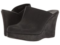 Cordani Augustine Black Calfskin Women's Wedge Shoes