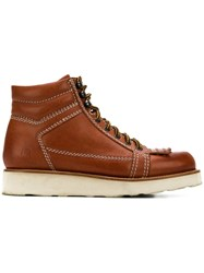 J.W.Anderson Jw Anderson Hiking Boots Brown