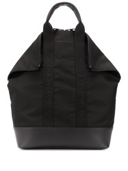 Alexander Mcqueen Leather Trimmed Tote Backpack 60