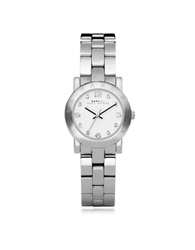 Marc By Marc Jacobs Mini Amy 26 Mm Silver Tone Stainless Steel Women's Watch