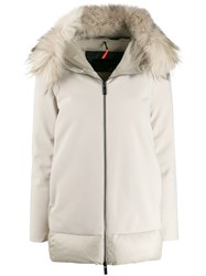 Rrd Hooded Padded Coat Neutrals