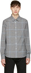 Noah Black Plaid Pocketed Shirt