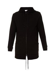 Public School Sakka Hooded Zip Through Sweatshirt Black