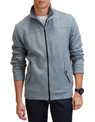 Nautica Sueded Fleece Track Jacket Grey
