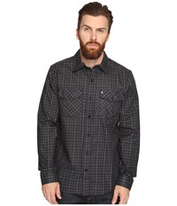 Hurley Cascade Dri Fit Flannel Black Men's Clothing