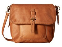 Lucky Brand Medine Convertible Messenger Tobacco Messenger Bags Brown