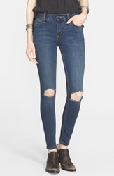 Free People Destroyed Skinny Jeans Josie