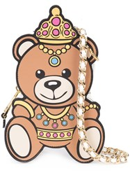 Moschino Crowned Teddy Bear Shoulder Bag